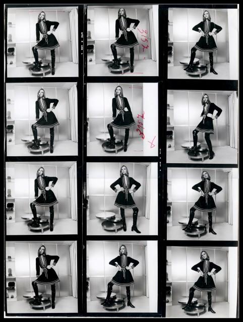 Mannequin - Robe Noire - 70 - Jean-Daniel LORIEUX