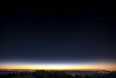 Sous le ciel étoilé