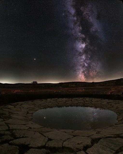 L'eau de la Voie lactée - The water of the Milky Way - Guillaume CANNAT