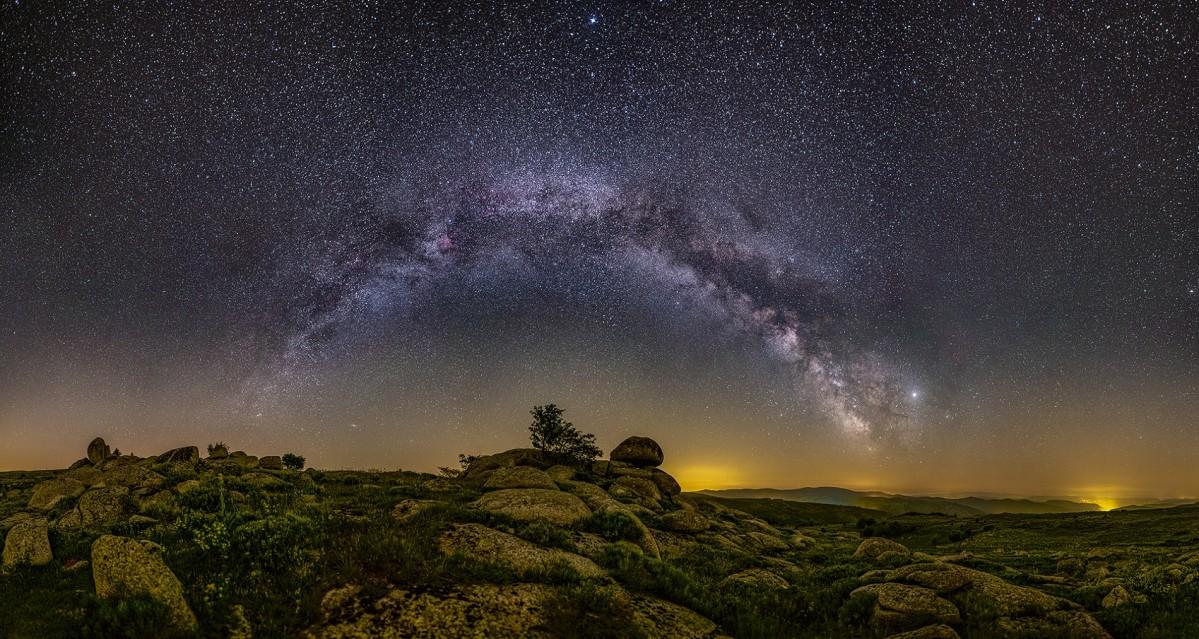 L'arche galactique - Guillaume CANNAT