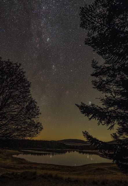 Étoiles des Pléiades et de Persée - The Pleiades and Perseus stars - Guillaume CANNAT