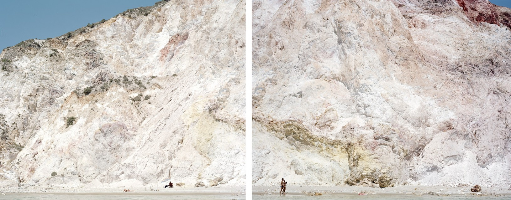 Firiplaka Red Yellow Diptych (4550-4551) - Massimo VITALI