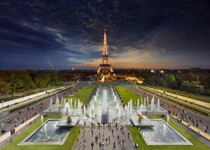 Eiffel Tower, Paris - Stephen WILKES