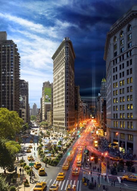 Flatiron 9/11, NYC - Stephen WILKES