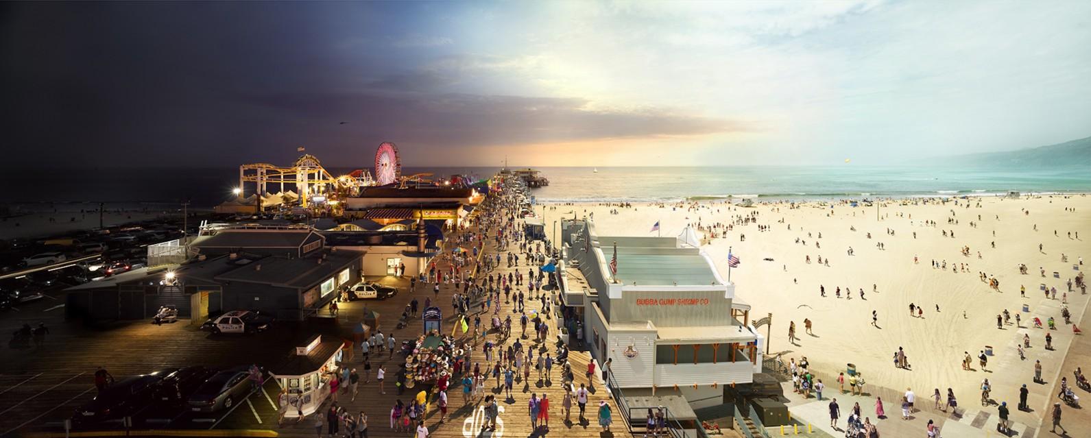 Santa Monica Pier, LA - Stephen WILKES