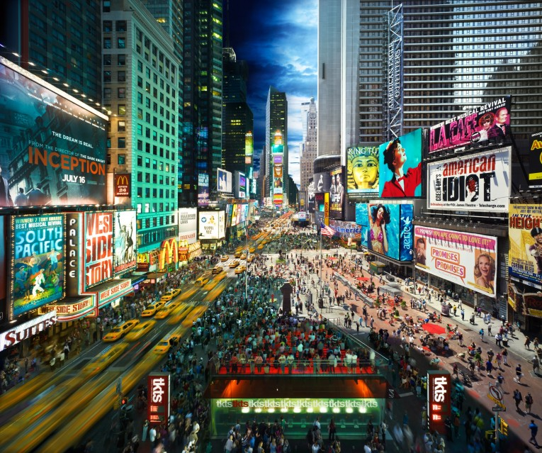 Times Square, NYC - Stephen WILKES