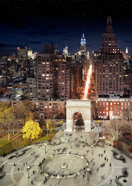Washington Square, NYC - Stephen WILKES
