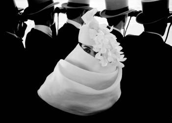 Givenchy Hat (a), Jardin des Modes, 1958 (2)