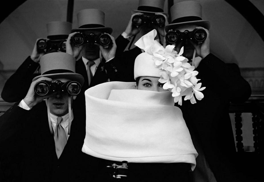 Givenchy Hat (c), Jardin des Modes, 1958 (3) - Frank HORVAT