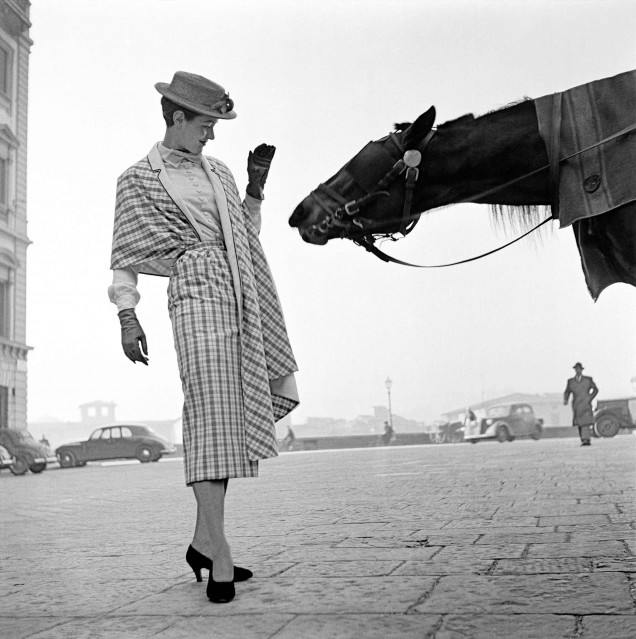Firenze, First Fashion Photography, 1951 - Frank HORVAT