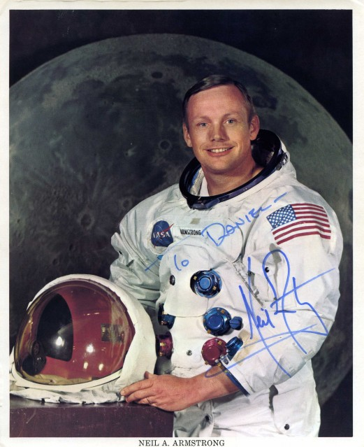Apollo 11, Neil Armstrong, Official Portrait in Space Suit - NASA