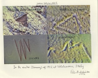 Snow Drawings, 1972