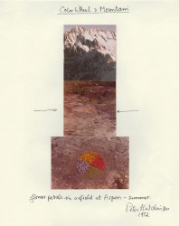 Color Wheel and Mountain, 1972