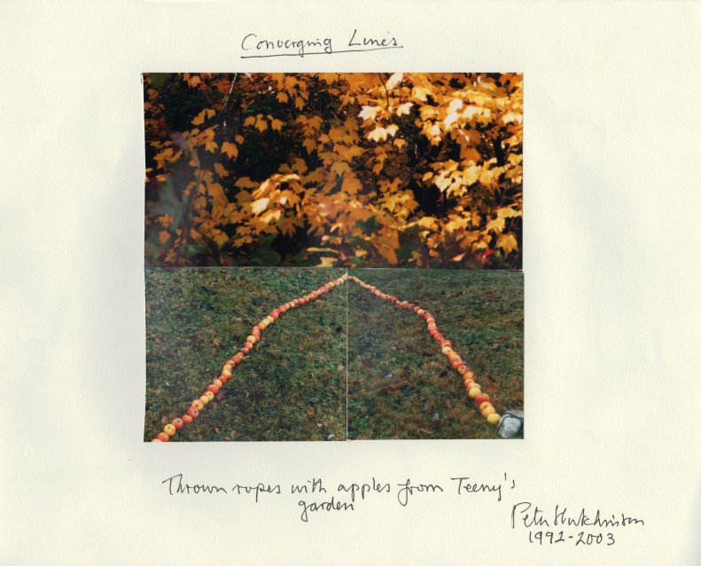 Converging Lines, 1992-2003 - Peter HUTCHINSON