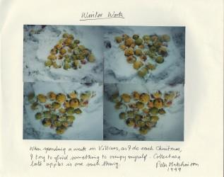 Winter Work, 1999