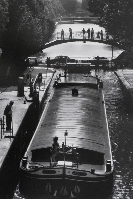 Péniche sur le canal - Jean-Claude GAUTRAND