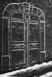 La porte mystérieuse