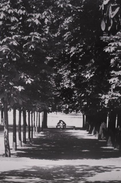 Jardin des Tuileries, 1989 - Jean-Claude GAUTRAND