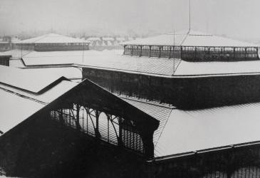 Les neiges de Baltard, 1971, Paris Mon Amour