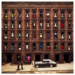 Girls in the Windows, New-York, 1960
