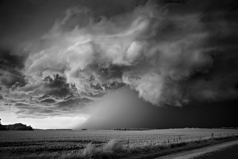 Storm over Field - Mitch DOBROWNER
