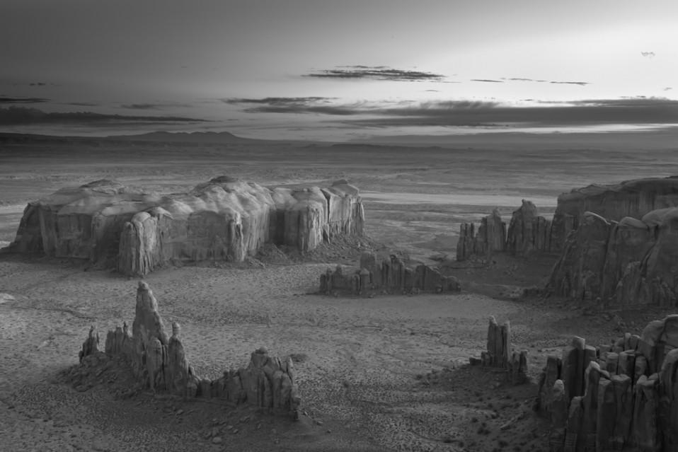 Sunrise over Spires - Mitch DOBROWNER