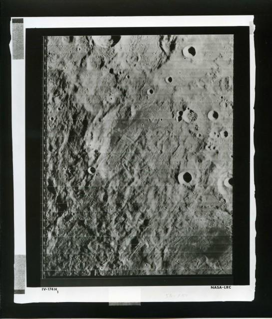 LRC Lunar Orbiter 4 (IV-174H1) - NASA