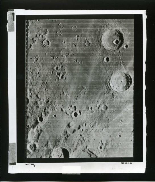 LRC Lunar Orbiter 4 (IV-174H2) - NASA