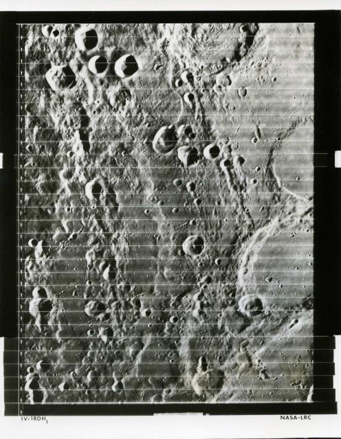 LRC Lunar Orbiter 4 (IV-180H1) - NASA