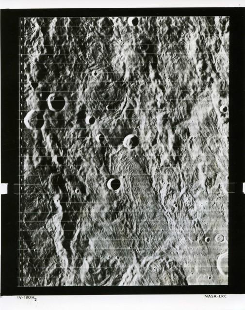 LRC Lunar Orbiter 4 (IV-180H2) - NASA