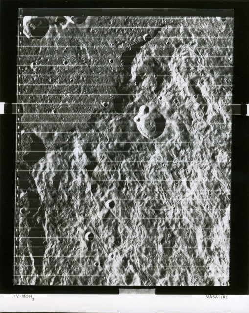 LRC Lunar Orbiter 4 (IV-180H3) - NASA