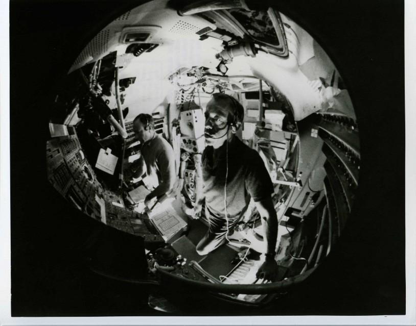 Apollo 14, Fish-eye (70-H-1090) - NASA