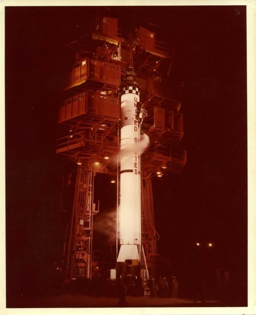 Mercury Redstone 1,  Pre launch - Mercury
