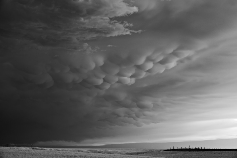 Mammatus clouds over Fence - Mitch DOBROWNER