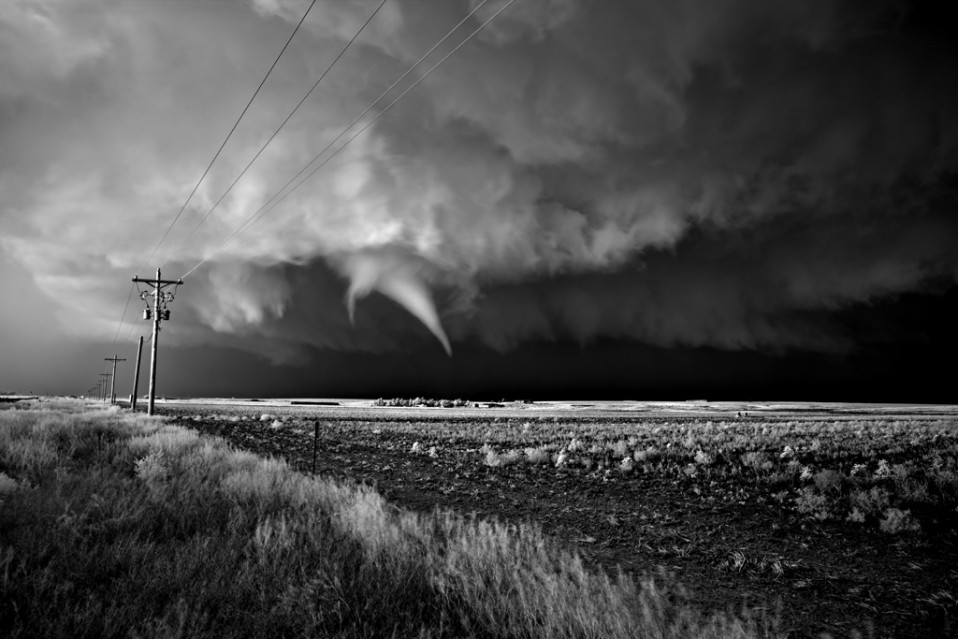Tornado over Farm - Mitch DOBROWNER