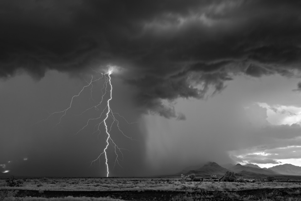 Lightning and Homestead - Mitch DOBROWNER