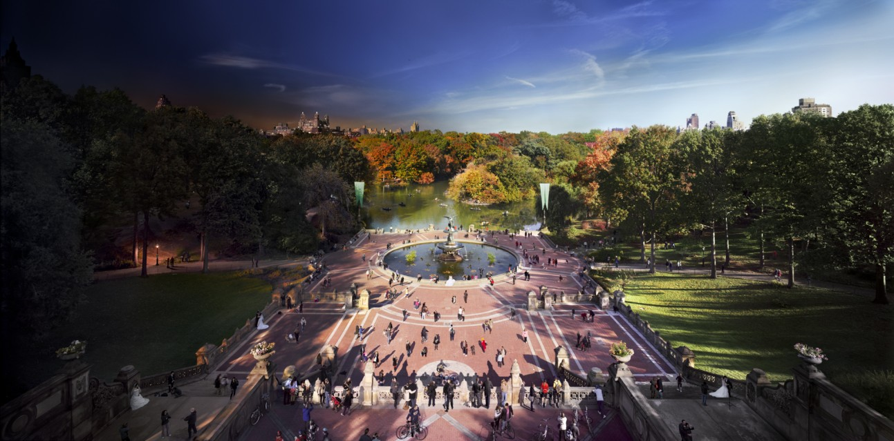 Bethesda Fountain, Central Park - Stephen WILKES