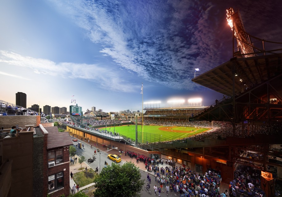 Wrigley Field, Chicago - Stephen WILKES
