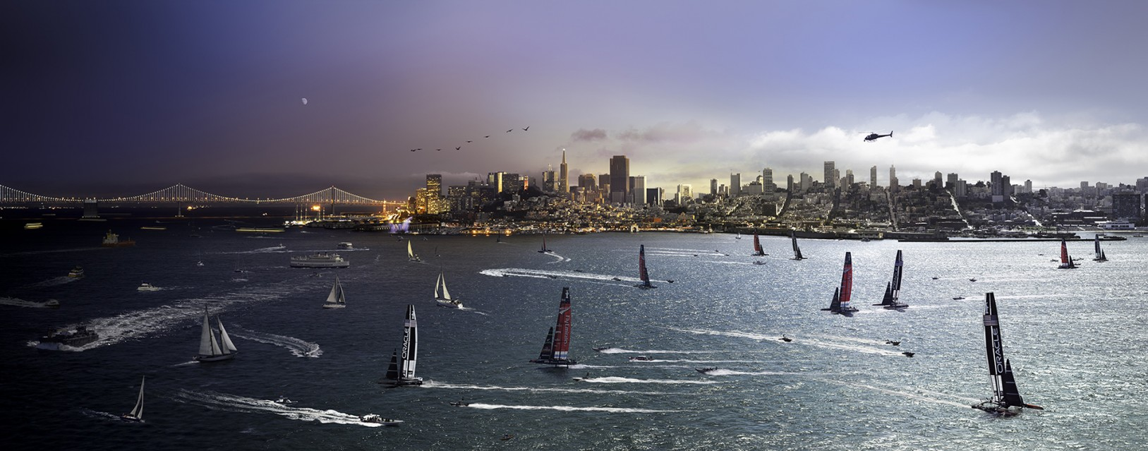 America's Cup, San Francisco - Stephen WILKES