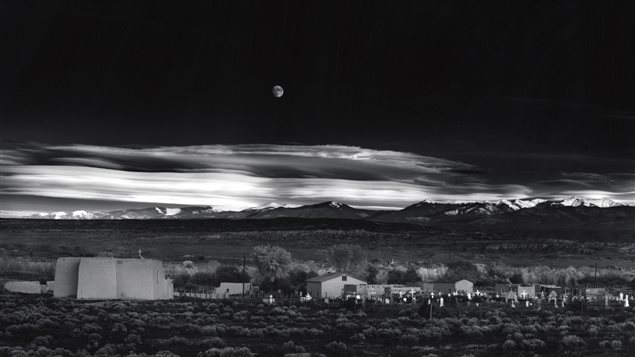 Ansel Adams, Moonrise, Hernandez, 1941