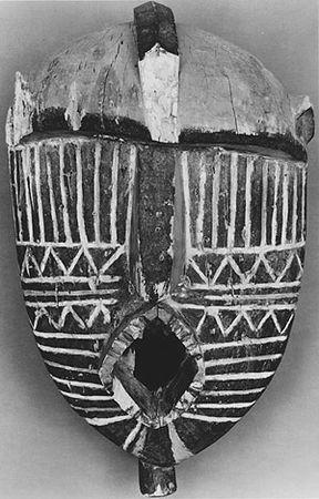 Walker EVANS, Masque Bwa du Burkina Faso, 1935