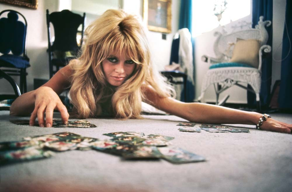 Big size photo of the french actress Brigitte Bardot in 1965, when she was still young and beautiful.