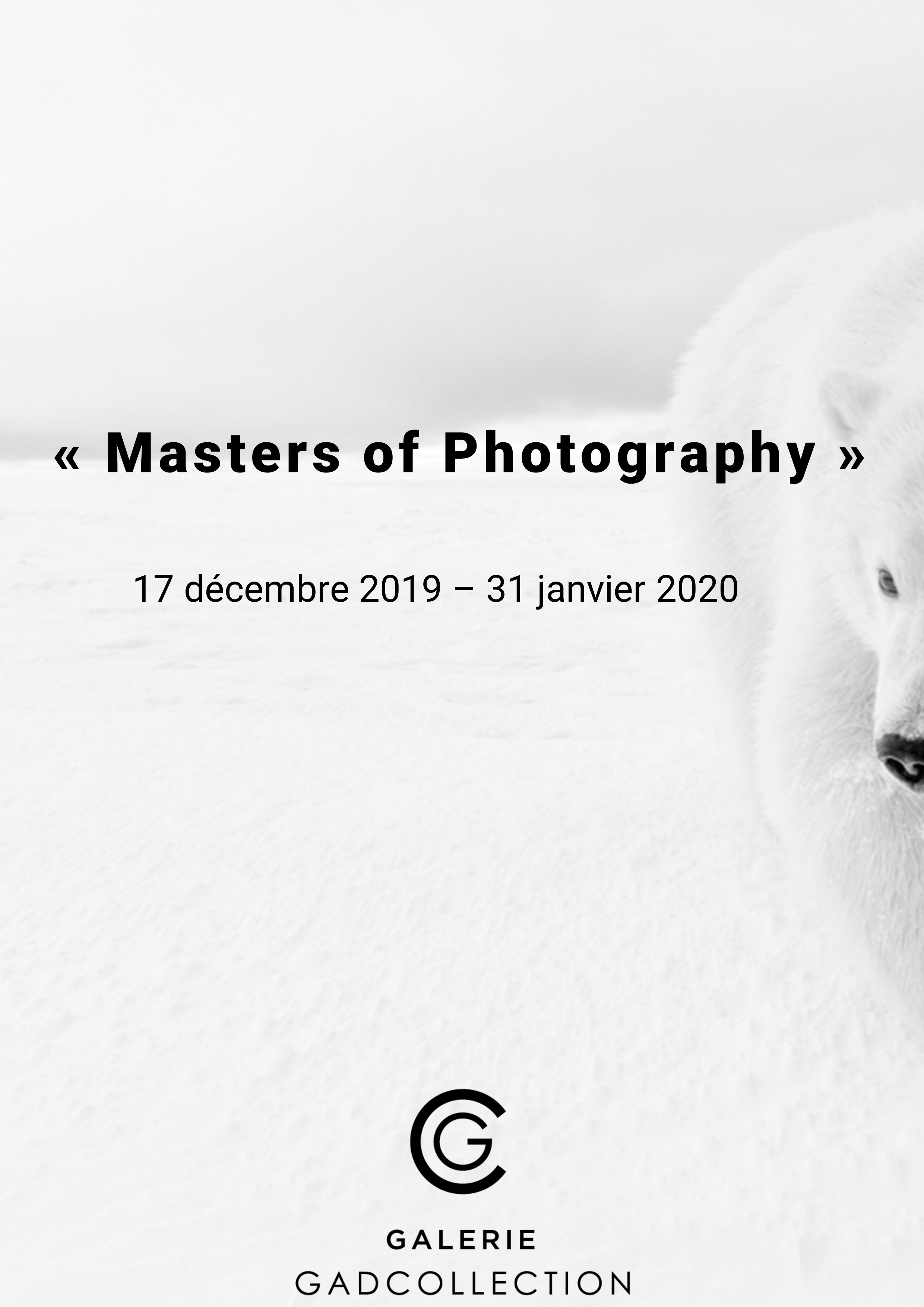 Galerie GADCOLLECTION,Masters of Photography