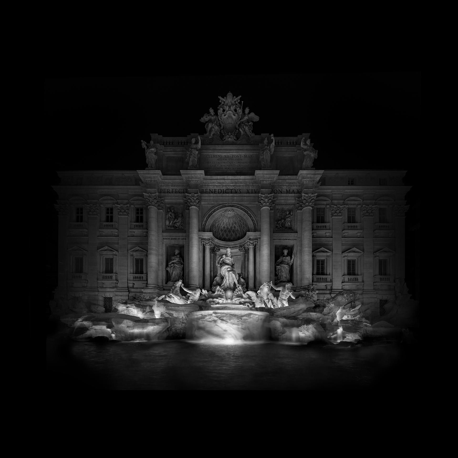 Photographie de la fontaine de Trevi par Alessandro Piredda