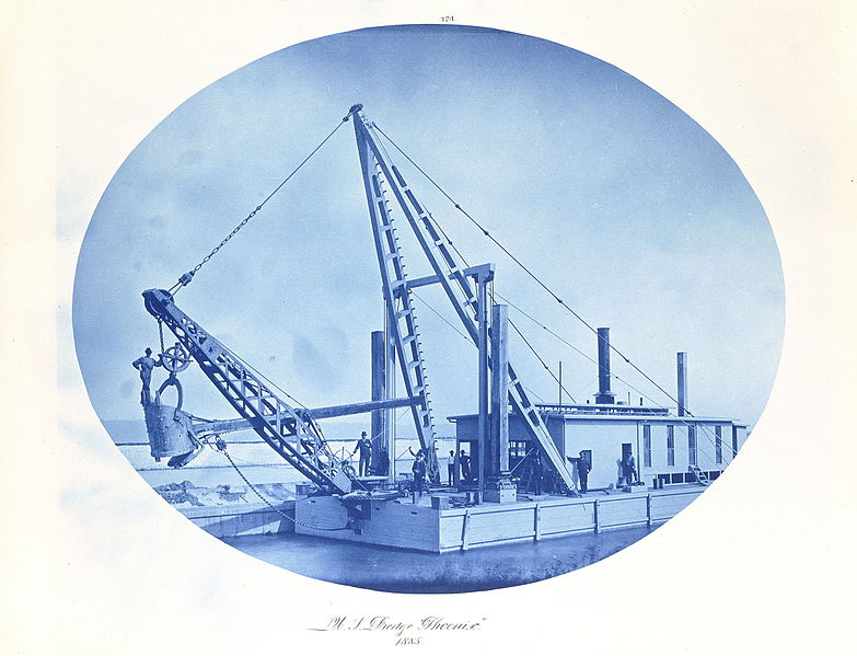 Photographie cyanotype industriel